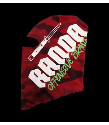 RED CAMO BALACLAVA - Randa