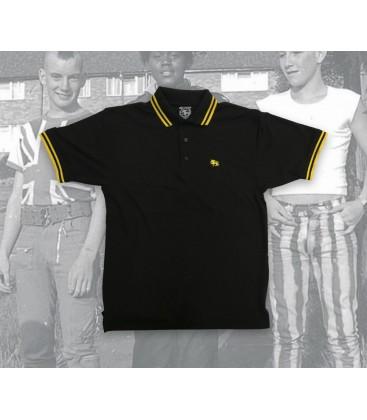 Polo Bestiario amarillo negro - WE RESIST