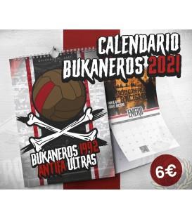 Calendario 2021 - BUKANEROS