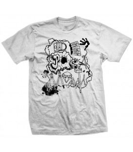 Camiseta De Poca Monta Gris - LA VERJA
