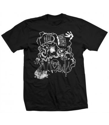 Camiseta De Poca Monta Negra - LA VERJA