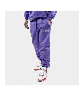 JE SUIS PURPLE TRACK PANTS - STELARS