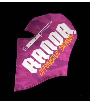 PINK CAMO BALACLAVA - Randa
