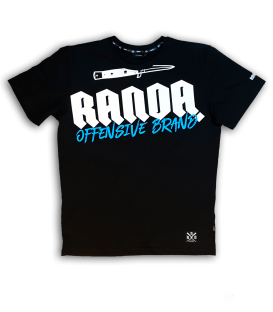OFFENSIVE BLACK T-SHIRT  - RANDA