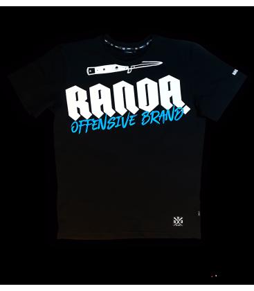 OFFENSIVE BLACK T-SHIRT  - RANDA
