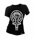 CAMISETA FIGHT LIKE A GIRL - Red Glove
