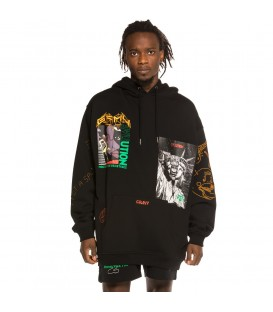Sudadera Grimey Liveution Magic 4 Resistance Hoodie Black | Spring 21 - GRIMEY