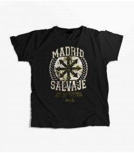 Camiseta Mujer Madrid Salvaje - FREELIFE