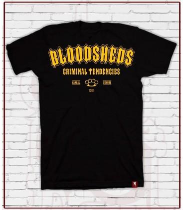 Camiseta Madrid Negra- Bloodsheds