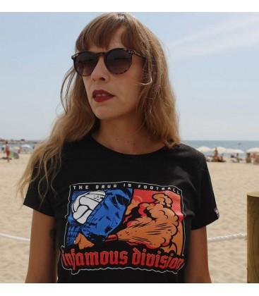 Camiseta Classic Sky Blue - INFAMOUS DIVISION