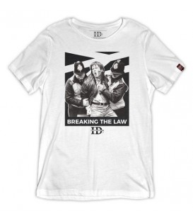 Camiseta Breaking the Law - INFAMOUS DIVISION