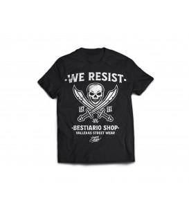 Camiseta Skull 161- WE RESIST