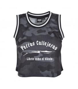 TOP DARK CAMO - PERROS CALLEJEROS