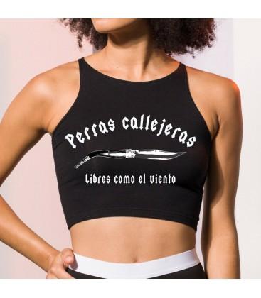 TOP NEGRO - PERROS CALLEJEROS
