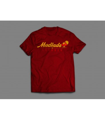 Camiseta Palm Tee Granate - MADLADS CLOBBER