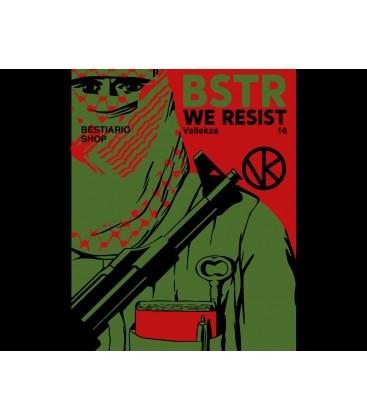 Camiseta Mujer Palestina - WE RESIST