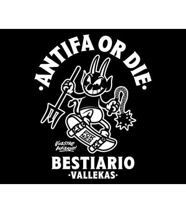 Camiseta Antifa or Die - WE RESIST