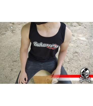 Camiseta Camiseta tirantes Negra - Bukaneros