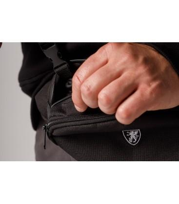 "Belt Bag ""Adventure"" Black - PgWear"