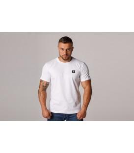 """T-shirt """"Logo Quad"""" White- PgWear"""