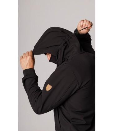 "Full Face Softshell Jacket ""Spectrum"" Black - PG WEAR"