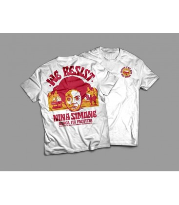 Camiseta Nina Simone - WE RESIST