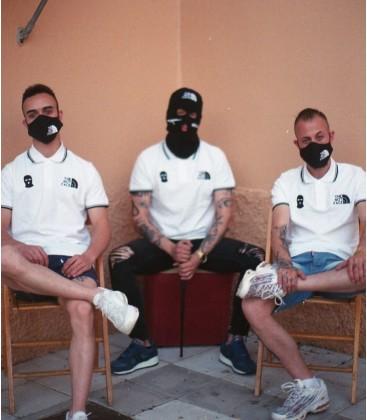 Polo The Not Face  Blanco - ORIGINALS
