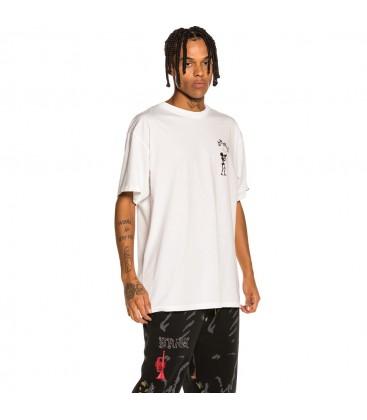 "Camiseta Grimey ""The Throat-Clear"" - White   Fall 21"